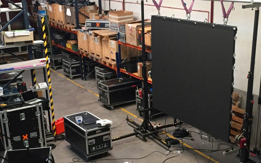 Llega la nueva pantalla de LED de 240 módulos